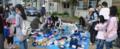4月24日「東日本大震災 被災地支援フリマ」1