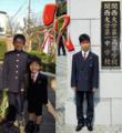 卒団生入学式