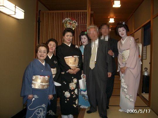 金沢にし茶屋街「美音」での一コマ