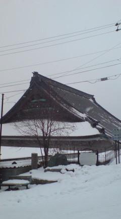 東本願寺別院の大屋根