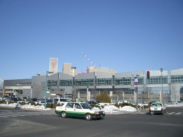 帯広駅「南口」