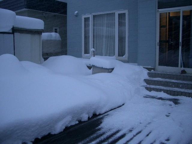 除雪開始前