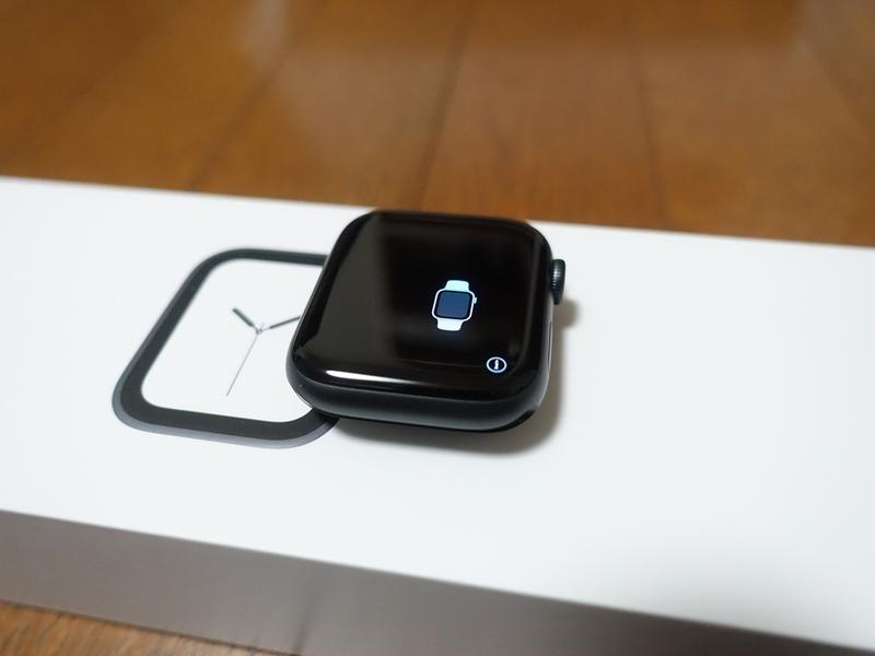 Apple Watch Series4のペアリング