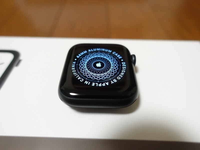 Apple Watch Series4とiPhoneの同期完了