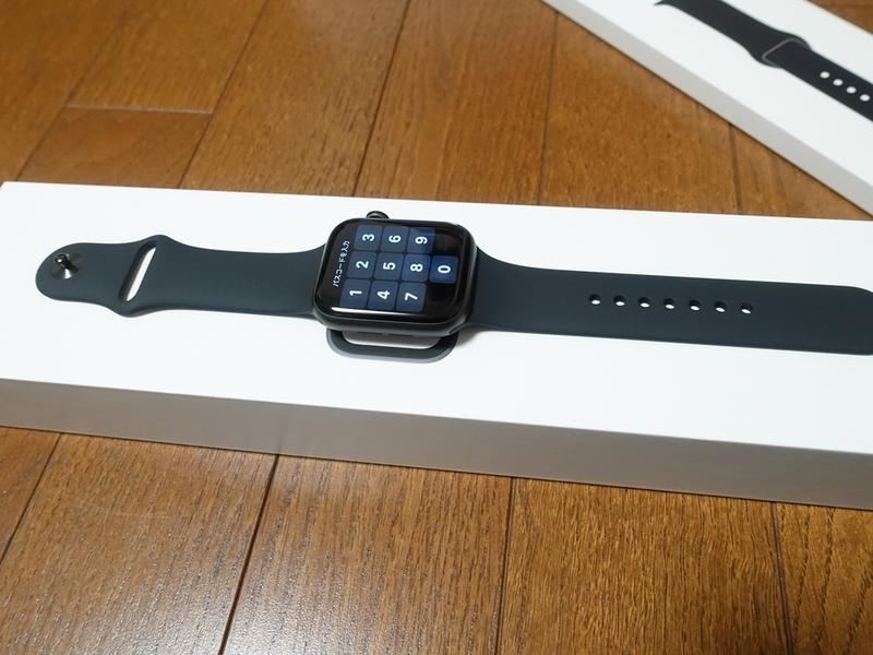 Apple Watch Series4のバンド装着状態