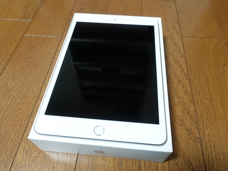 iPad mini5の液晶