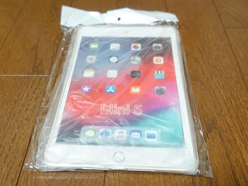 iPad mini 第5世代 TPUケースのパッケージ