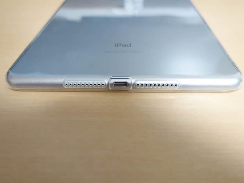 iPad mini 第5世代 TPUケース 下部の外観