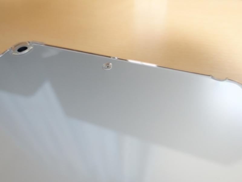 iPad mini 第5世代 TPUケース マイク穴の外観