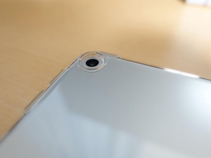 iPad mini 第5世代 TPUケース カメラ周りの外観