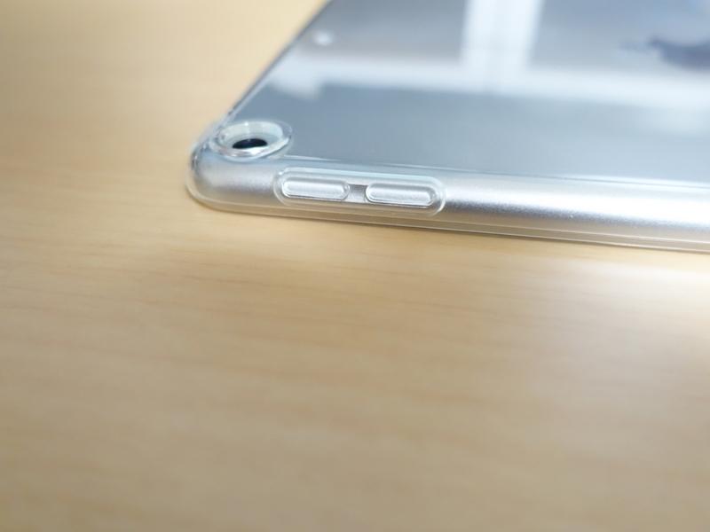 iPad mini 第5世代 TPUケース サイド周り外観