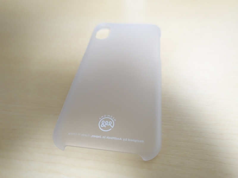 AndMesh iPhone X ケース Basic Caseの外観