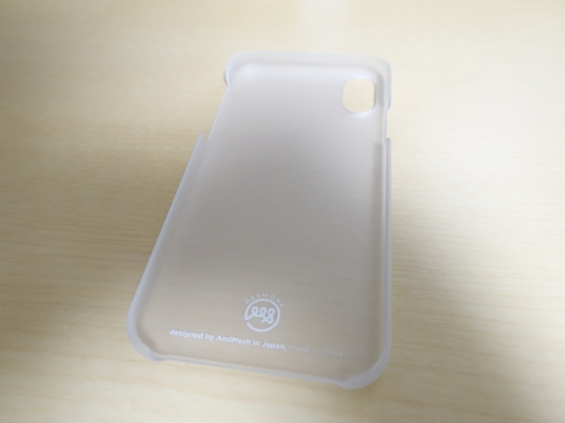 AndMesh iPhone X ケース Basic Caseの内側外観