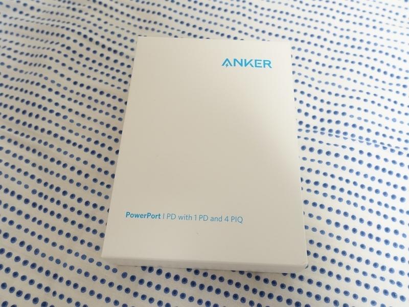 Anker PowerPort I PDのパッケージ