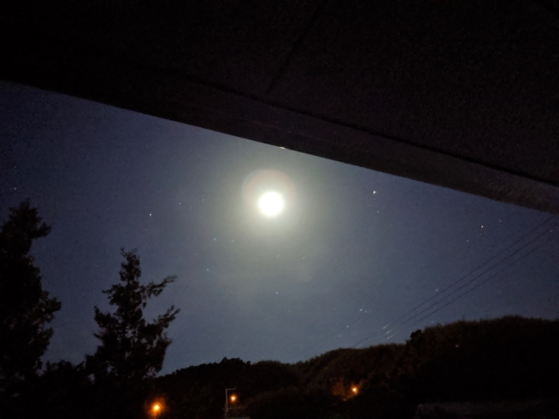 Google Pixel 3aの夜景モードで撮った写真