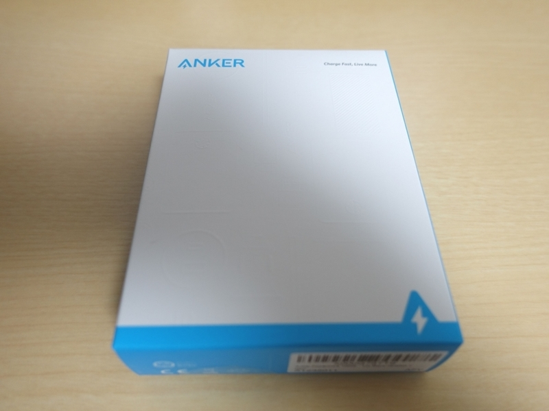 Anker PowerCore 10000 PDのパッケージ