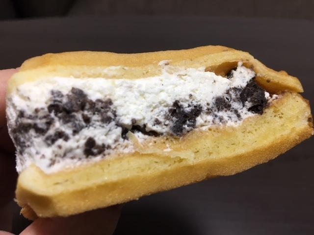 クリーム&クッキーの量に・・また衝撃!
