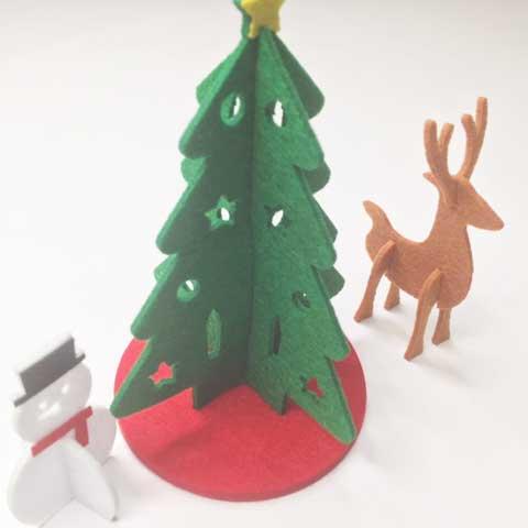 これでいつでもクリスマス気分!?カンタン組み立てのオブジェが我が家の癒し♡
