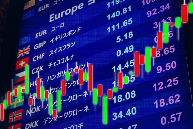 株価のチャート画像