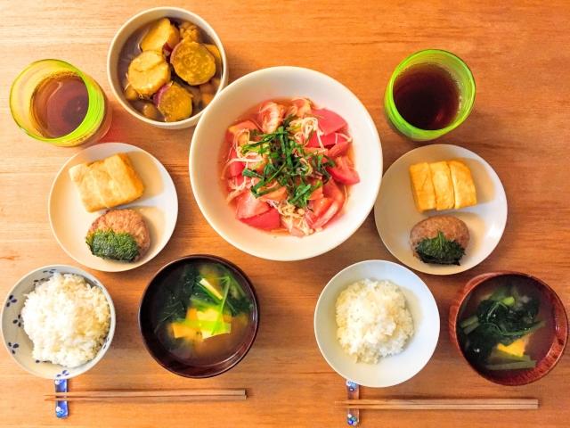 健康的な食事の画像