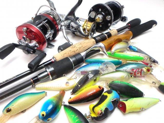釣り道具の写真