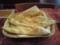ガネーシャのランチのおかわりナン