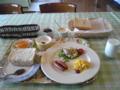 なよろサンピラーユースホステルの朝食