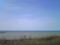 うっすらと焼尻島か天売島