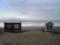 利尻礼文サロベツ国立公園の看板とお堂