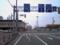稚内駅前の道路の看板
