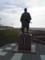間宮林蔵の銅像
