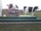 道の駅さるふつ公園にあった乳牛感謝の碑