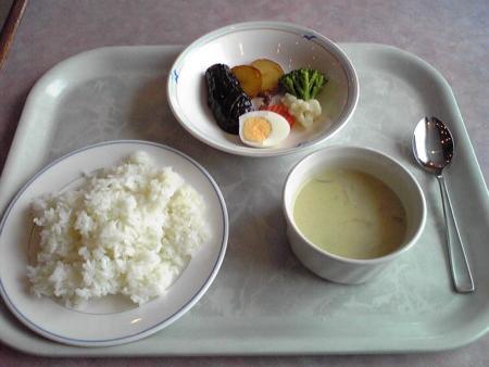フェリーでの朝食(2)
