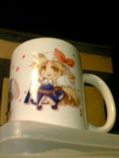 tailtame's fotolife - マグカップ、やや遠くから