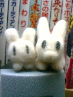 イナバっぽいモノ2号(`・ω・´) 口保留w*羊毛フェルト