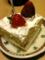 ケーキ(´¬`*)