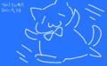 [haheratter][illust]俺ブルー