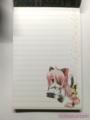 [print]オリジナルからフィールちゃんでメモ帳
