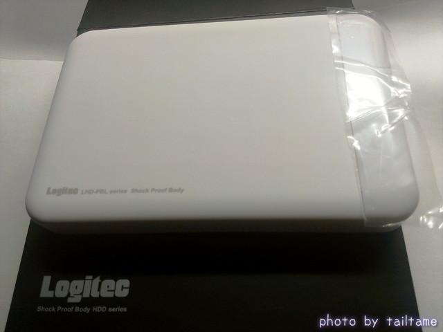 Logitec ポータブルHDD 耐衝撃 2013