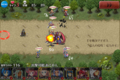 [game]千年戦争アイギス。竜人の侵攻:竜人の王。ノースキルぅ