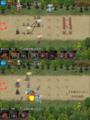 [game]千年戦争アイギス。奇怪な魔群。こわかった…。
