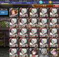 [game]#千年戦争アイギス GR20160513。(ヽ´ω`)