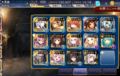 [game]#千年戦争アイギス 覚醒パーティ13+アンナさん