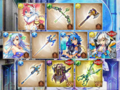 [game][game_kamihime]#神姫project SSR確定GW3000。キュー!(内2Kはお空でもらry