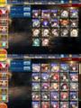 [game][game_aigis]#千年戦争アイギス 黒と白のレベル順