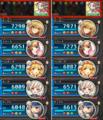 [game][game_kamihime]#神姫project 鳳凰弓の最終でディフェ小20の結果