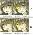[illust]Photoshop:色の校正→色覚のP型とD型