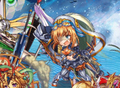 [game][game_kamipro]#神姫Project 覚醒テュールのバースト発動後の最初の顔