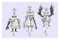 [イラスト][illustration][モンスター][甲冑][ゼンマイ][スチームパンク]三獣士