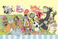 [イラスト][illustration][月][アリス][ゆーき][トランプ][猫]アリスB※非売品